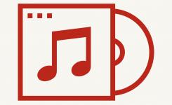 logo cd muziek